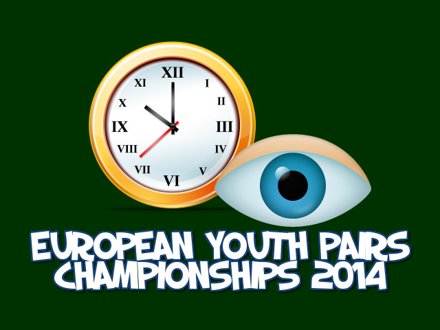 European Youth Pairs Championships 2014: incontri su BBO