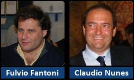 Fulvio Fantoni e Claudio Nunes