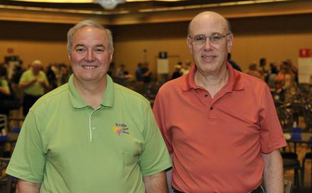 Doug Doub e Frank Merblum von Zedtwitz Life Master Pairs