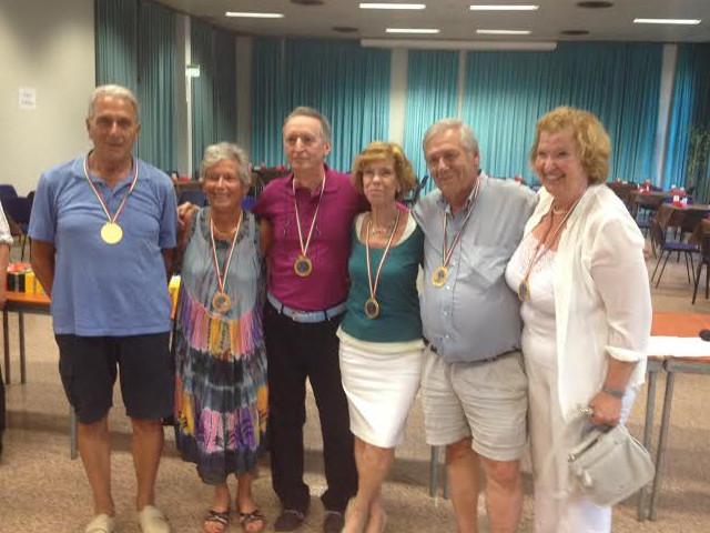 Festival Over 60, Squadre Miste: oro a Pratesi e record di partecipanti
