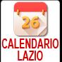 Calendario Regione Lazio