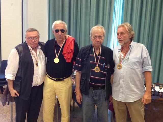 Festival Over 60, Squadre Libere: oro a Cambiaghi. Oriella Ghelli e Paolo Giove si confermano Lady e Mister Over 60