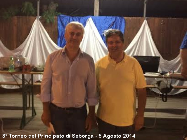 Torneo del Principato di Seborga 2014