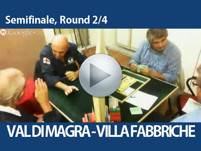 Video Semifinale, Round 2/4 – Val Di Magra – Villa Fabbriche