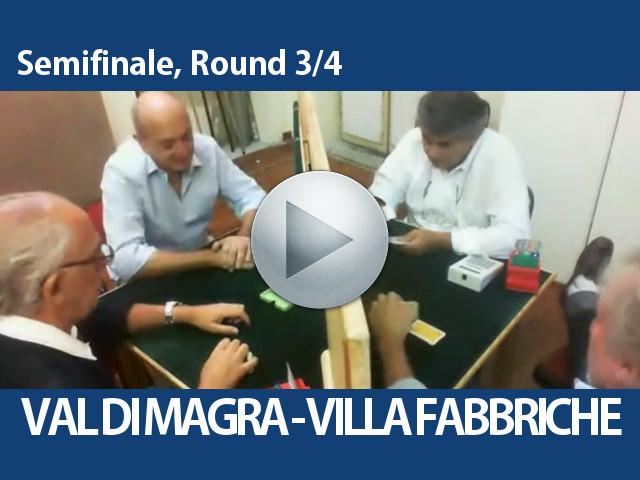 Video Semifinale, Round 3/4 – Val Di Magra – Villa Fabbriche