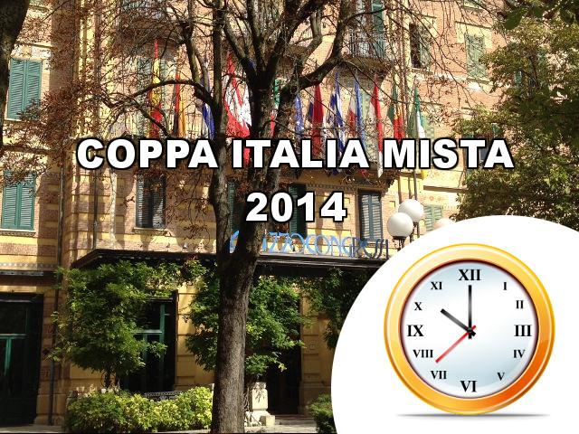 Orari Coppa Italia Mista 2014