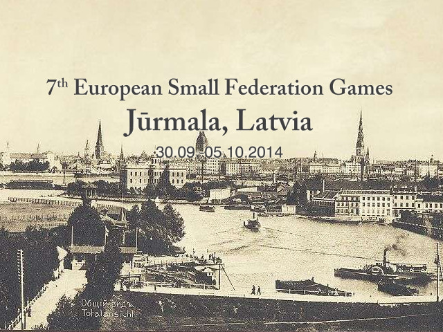 Euopean Small Federations Games 2014