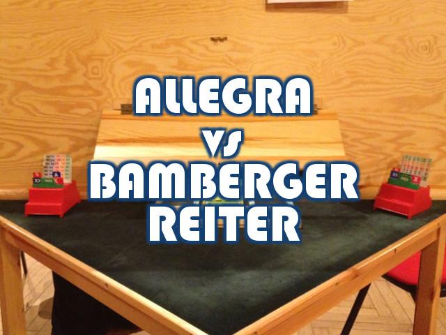 European Champions' Cup: la finale ALLEGRA – BAMBERGER (2)