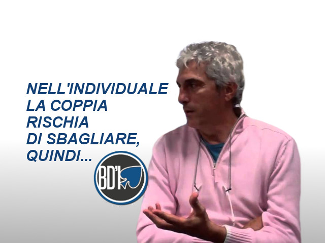 Verso il Campionato individuale: i consigli di Norberto Bocchi