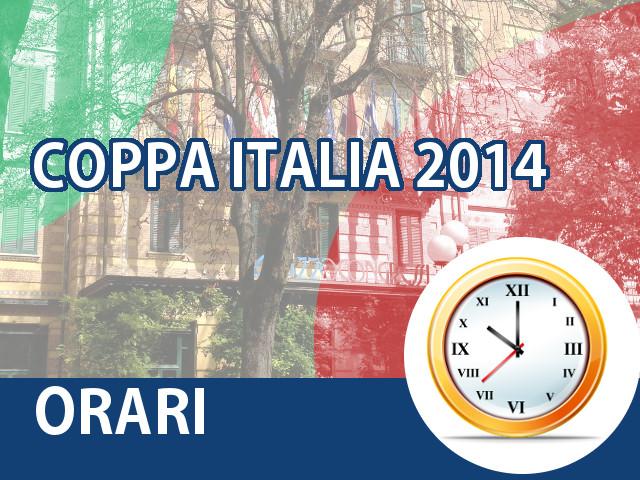 COPPA ITALIA 2014: Orari BBO