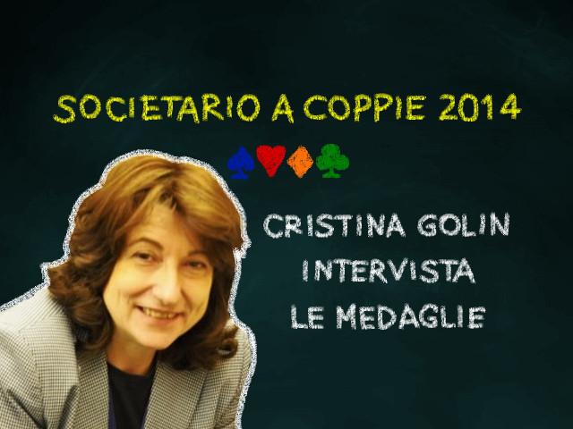 Societario a Coppie 2014: Cristina Golin intervista le medaglie (5)