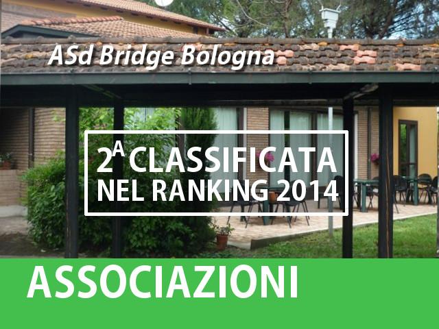 La 2A della Classifica delle Associazioni 2014: Bridge Bologna