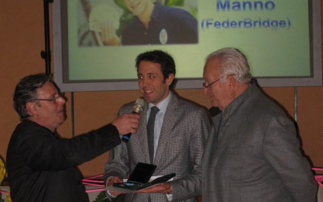 Andrea Manno premiato dal CONI Sicilia