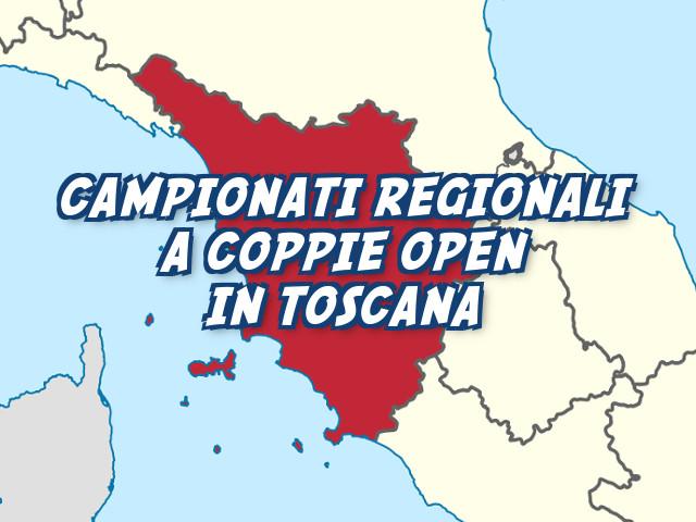 Campionato Regionale a Coppie Open in Toscana: i vincitori