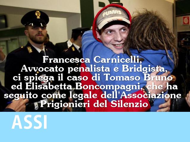 Tomaso Bruno ed Elisabetta Boncompagni e gli altri italiani detenuti all'estero