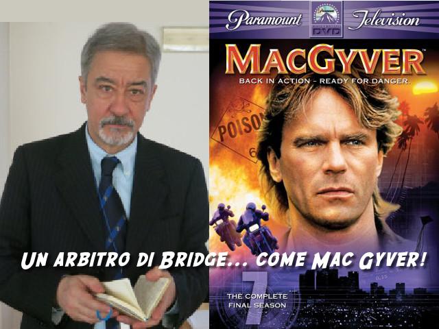 Carlo Galardini, un Arbitro di Bridge come Mac Gyver