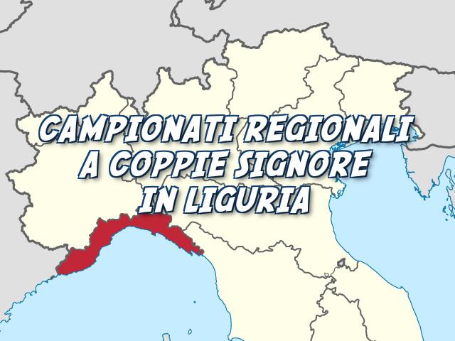 Campionato Regionale a Coppie Signore in Liguria: le vincitrici