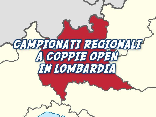 Campionato Regionale a Coppie Open 2015 in Lombardia