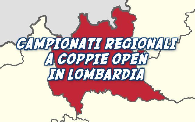 Campionato Regionale a Coppie Open in Lombardia