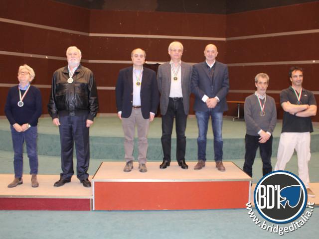 Assoluti a Coppie 2015 - podio Open