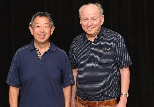 Bruce Noda e Mark Ralph