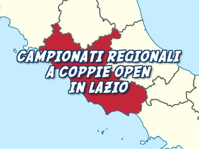 Campionato regionale a Coppie Open in Lazio