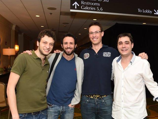 Andrea Manno, Massimiliano Di Franco, Thomas Bessis, Cedric Lorenzini
