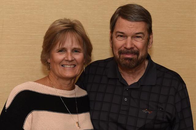 Susan Stubinski e Bruce Wick