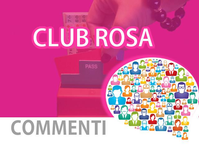 Club Rosa: il commento di Tiziana