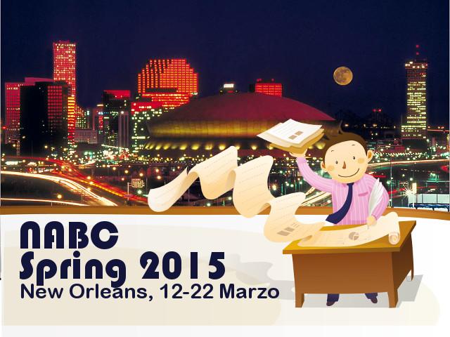 2015 NABC New Orleans - Il punto