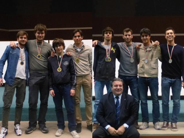 Campionati Under 26 a Squadre: oro alle formazioni Raccapruna e Prosperi