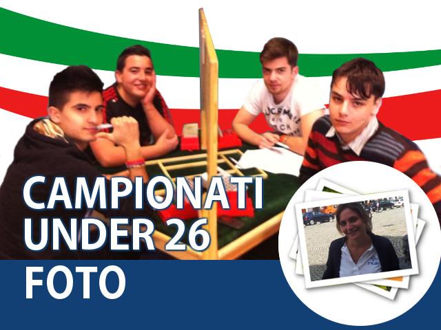 Galleria fotografica dei Campionati Italiani Under 26 2015