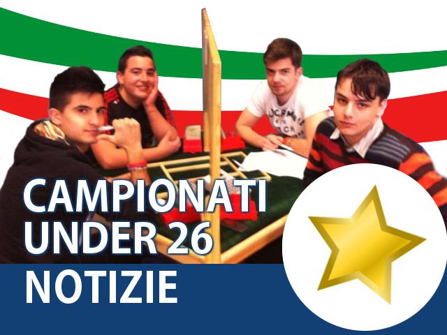 Campionati Italiani Under 26 e Stage tecnico-didattico giovanile