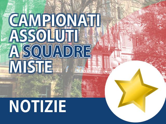 Campionati Assoluti a Squadre Miste 2015: oro a ZENARI