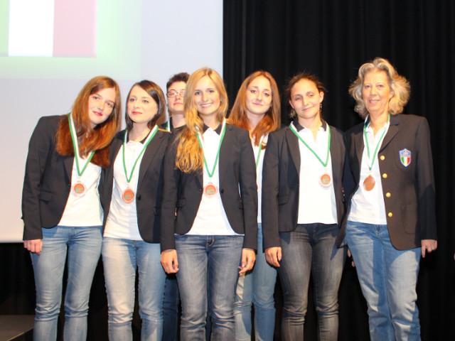 European Youth Championships 2015: medaglia di bronzo per l'Italia Ladies!