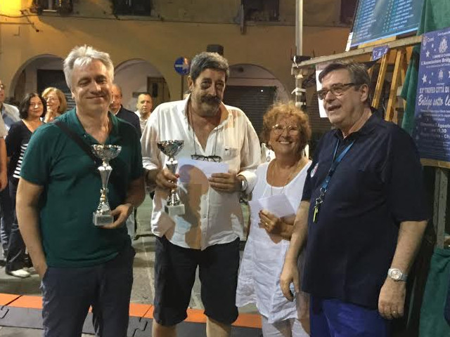 Enrico Benassi e Roberto Terenzi - Trofeo Città di Chiavari 2015