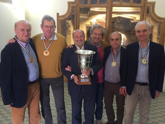 A Patané la Coppa Italia Over 60