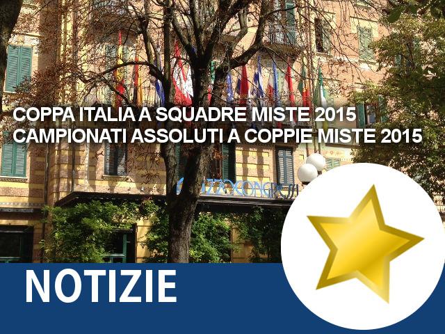 Coppa Italia a Squadre Miste 2015