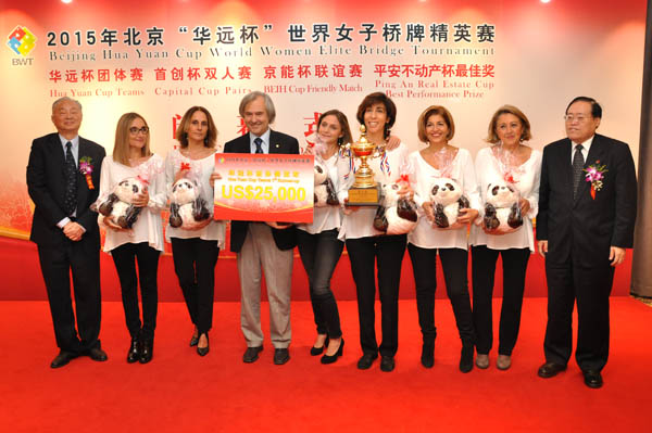 Hua Yuan Cup – Women Elite Bridge Tournament: le vincitrici