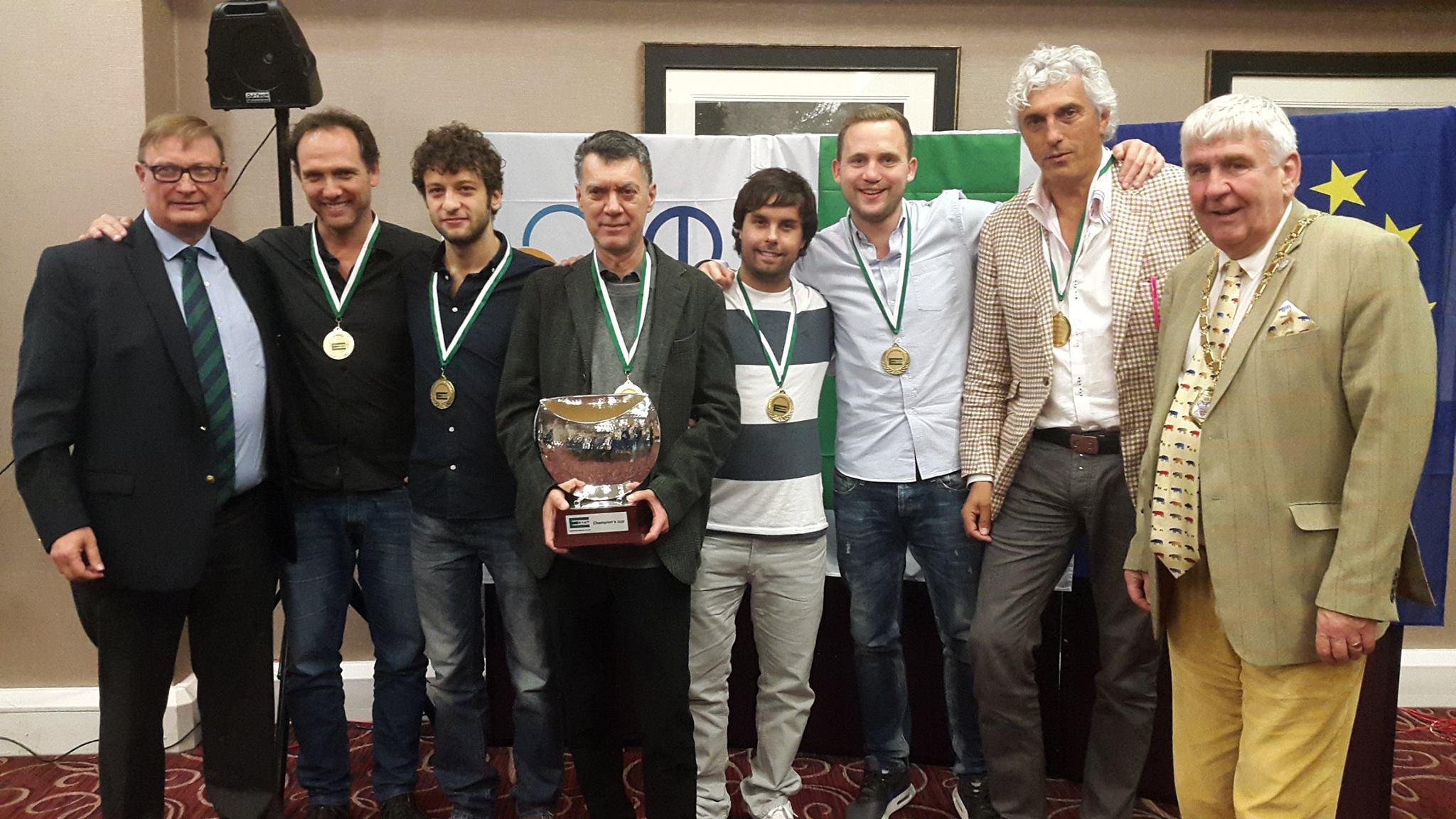 Allegra Lavazza European Champions' Cup 2015