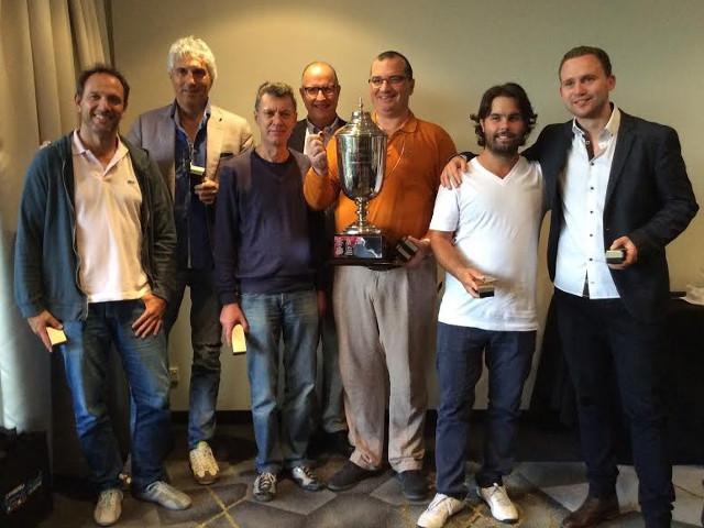 La squadra Lavazza vincitrice a Canberra