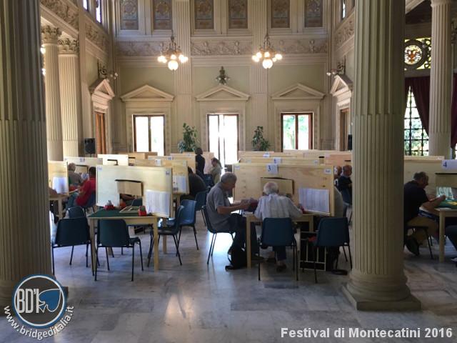 Festival di Montecatini 2016, Coppa Italia Over 60: definito il tabellone dei quarti di finale