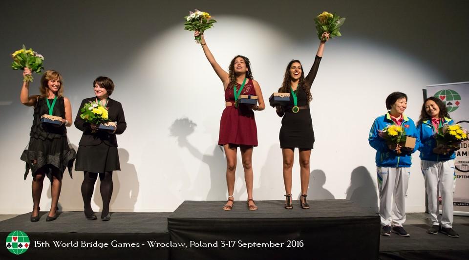 Il podio Femminile