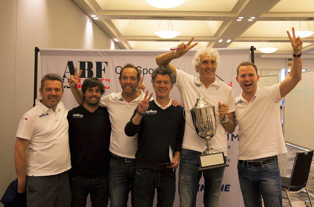 La squadra Lavazza trionfa a Canberra