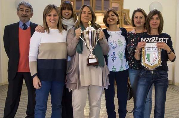 Tennis Club Parioli ASD - oro nel Campionato di Società Sportive a squadre femminili 2016