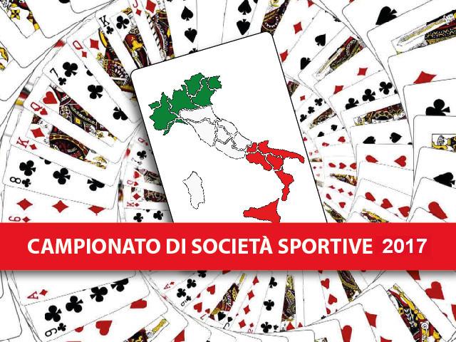Campionato di Società Sportive a squadre 2017: oro a IDEA BRIDGE e REGGIO EMILIA