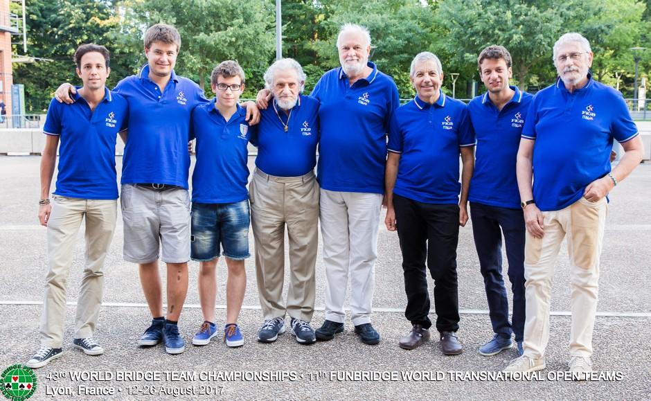 Campionati del Mondo a Squadre: Italia – Svezia (Open)