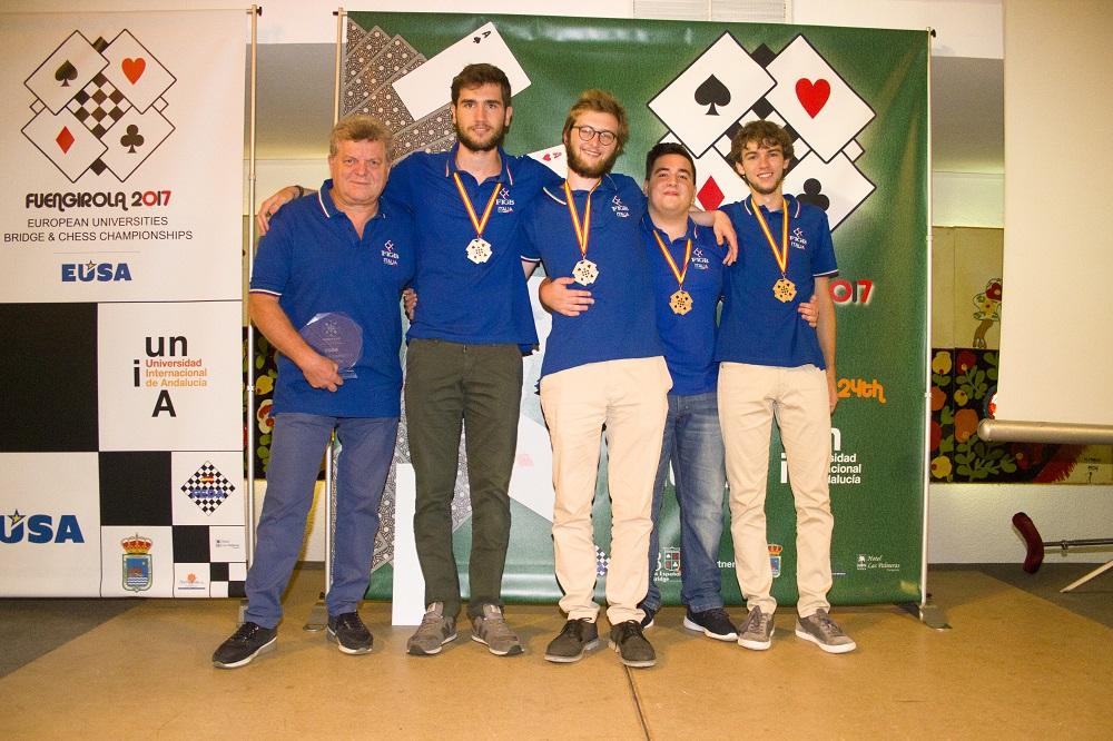 Campionati Europei Universitari: è oro!
