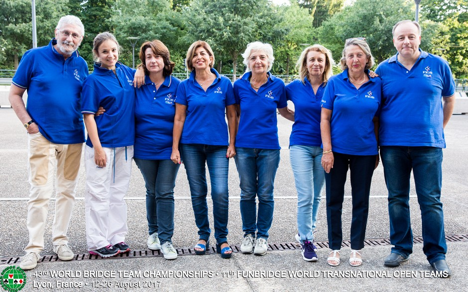 Campionati del Mondo a Squadre: Italia – Francia (Femminile)